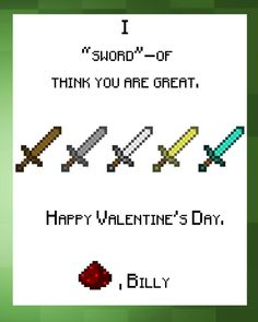 valentine card son