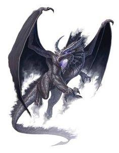 Monster Manual 5e - Dragon, Shadow - Craig J. Spearing - p85
