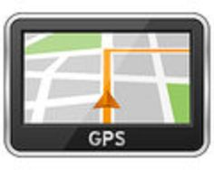 Illustration about Generic GPS navigation device with map and path, isolated on white background. Driving Class, Driving School, New Drivers, Confidence Boost, Gps Navigation, Stressed Out, Plating, Map, Street