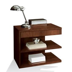 Modern Hollywood Night Stand - Bedside Tables - Furniture - Products - Ralph Lauren Home - RalphLaurenHome.com