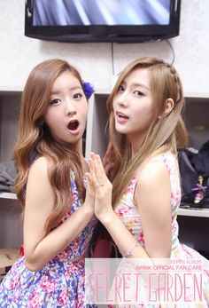 APink BoMi and HaYoung