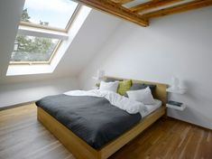 camera da letto mansarda 54