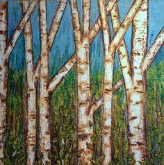 forêt des arbres par mingum sur Etsy