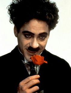 Robert Downey Jr. as Charlie Chaplin ❤❤❤
