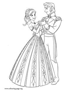 Anna Shares A Dance With Prince Hans Enjoy This Awesome Printable Disney Frozen