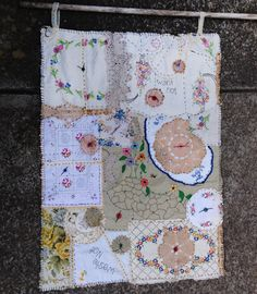 beautiful vintage textiles, re-envisioned