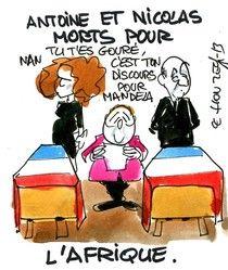 Hollande en Centrafrique
