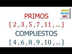 Números primos y compuestos - YouTube