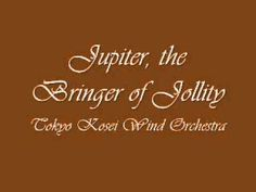 The Planets: Jupiter, the Bringer of Jollity - by Gustav Holst, performed by the Tokyo Kosei Wind Orchestra