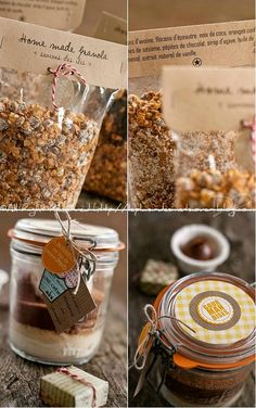 Cadeaux gourmands Little Presents, Diy Presents, Gourmet Gifts, Food Gifts, Diy Cadeau Noel, Dessert Packaging, Creative Gift Wrapping, Cookies Et Biscuits, Sos Cookies