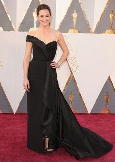 Jennifer Garner look Versace Oscar 2016 - party dress / vestido de festa