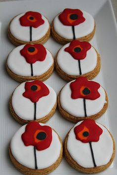 Flower cookies
