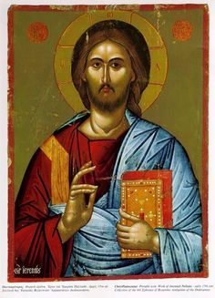 holy image of Christ, the Virgin Mary, or a saint venerated in the Eastern Orthodox Church Religious Symbols, Religious Art, Catholic Art, Roman Catholic, Christus Pantokrator, Greek Icons, Church Icon, Images Of Christ, Russian Icons
