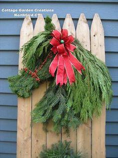 Horse head Holiday Wreath