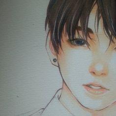 bts jeon jungkook by thumbelin0811.deviantart.com on @DeviantArt