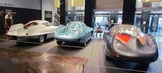 B.A.T. cars greet visitors as they arrive in the main gallery of the Frist Center for the Visual Arts | Larry Edsall photos
