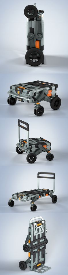 #EROVR is the uber-versatile folding cart-wagon system that's capable of…