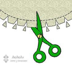 Costuras en curvas. Â¡Seguimos aprendiendo a coser!                                                                                                                                                                                 Más