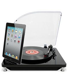 Ion Audio Ilp, Turntable Conversion System For Ipad, Iphone & Ipod Touch - Mens Electronics & Gadgets - Macy's