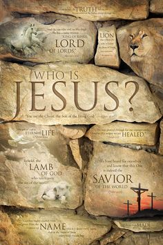 The Son of GOD The Bright and morning star The Prince of Peace The King of kings The Lord of lords The fountain of eternal life The Savior of the world!