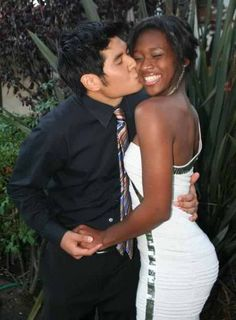 Aww. <3 I think interracial couples are beautiful! :)