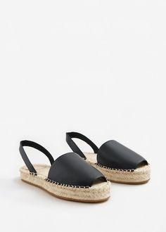 outlet store ff5ba adce6 Alpargata piel - Mujer. Zapatos AltosAlpargatasCalzadoTenisBotasSandalias  ...