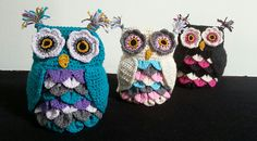 Get rid of those boring sand sacks for a doorstop, with these owl covers your doorstops are hip and cool again!