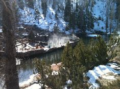Strawberry Park Natural Hot Springs, Steamboat Springs - this was an AMAZING place!