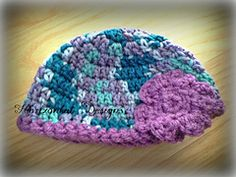 Ravelry: Bohemian Baby Hat pattern by Claire F Martin