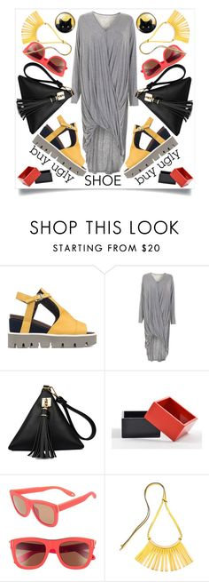 """""""Ugly Shoe-2"""" by capricat ❤ liked on Polyvore featuring Strategia, The Unbranded Brand, Givenchy and Marni"""