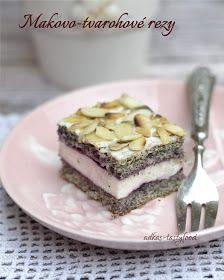 .. chute a vône mojej kuchyne...: Makovo-tvarohové rezy My Recipes, Tiramisu, Cheesecake, Ethnic Recipes, Desserts, Food, Fall Of Man, Tailgate Desserts, Deserts