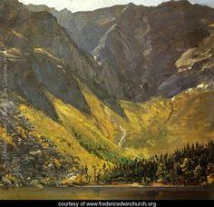 Great Basin, Mount Katahdin, ,Maine - Frederic Edwin Church - www.fredericedwinchurch.org