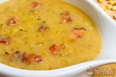 Receita de Caldo de milho com bacon em receitas de sopas e caldos, veja essa e outras receitas aqui!
