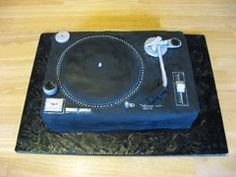 When I got married in November 2009, my wife surprised me with a custom-made groom's cake modeled after a Technics 1200 turntable. Easily the most badass cake I'll ever eat.