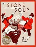 This is the original book by this title (author:  Marcia Brown).  Three soldiers, who are very hungry, arrive in a country village and make soup from stones with help from the villagers!  Teaches the value of sharing, and bringing what we have to the table to see it multiply in value and scope.  Read the book and then make stone soup on the Cute Cuisine board.