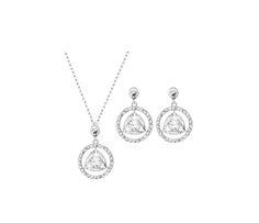 "Swarovski ""BACKSTAGE"" Set * #Swarovski #Jewelry #Crystals #Set #Necklace #Earrings #SpringSummer2015 #MarianaCarmona #JewelleryDesigner #2015 #Wedding #Bride"