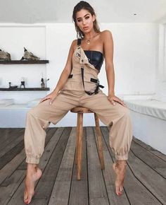 Jumpsuits for women 2018 female sexy swreetwear overalls for women rompers winter women dungarees Style Grunge, Grunge Look, 90s Grunge, Soft Grunge, Grunge Outfits, Tokyo Street Fashion, Rompers Women, Jumpsuits For Women, Fashion Jumpsuits