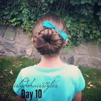 Girly Do Hairstyles: By Jenn: Week 3 {#GirlyDos100DaysofHair}