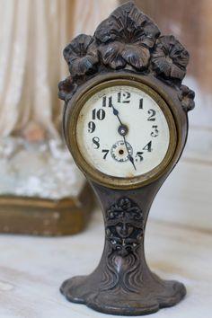 Christie Repasy Door | Antique clock-antique clock, shabby chic, french clock