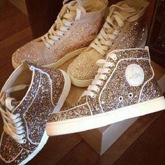 Mooie glitter schoenen