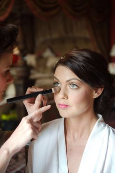 Wedding make up by Kelly Hooper