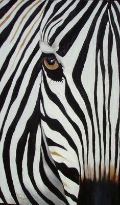 Zebra Abstract by Vanessa Lomas - Art ideas Cute Paintings, Portrait Paintings, Animal Paintings, Acrylic Paintings, Animal Drawings, Arte Zebra, Zebra Kunst, Zebra Art, Zebras
