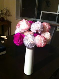 Mother's Day- tissue paper flowers