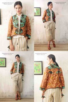 Batik Amarillis made in Indonesia proudly presents :Batik Amarillis's Arcana jacket #3