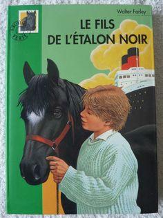 Bibliotheque verte Le fils de l étalon noir (Livre)