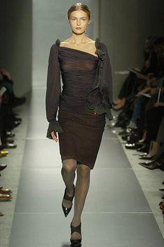 Donna Karan Fall 2005 Ready-to-Wear Fashion Show - Valentina Zelyaeva