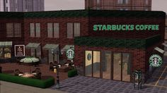 Starbuck Café by Galadrielh • Sims 3 Downloads CC Caboodle