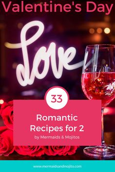 33 Romantic Recipes for two to Celebrate Valentine's Day! Simple and elegant recipes for a romantic Valentine's Day dinner. Easy Romantic Dinner, Romantic Meals, Shed Conversion Ideas, Romantic Recipes, Recipe For 2, Fall Candy, Valentines Day Dinner, Great Desserts, Meals For Two