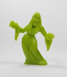 Monster In My Pocket - Series 1 - 36 Vampiress - Olive Green - Mini Figure