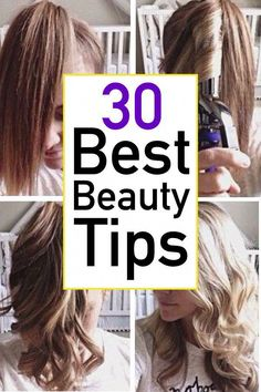 These beauty tips for women will help you get better results from your beauty routine.  You will love these practical handy tricks that will help you get ready faster, stretch your products, apply like a pro, and improve your hair, skin, and nails! #BeautyHacksForTeens Beauty Hacks For Teens, Beauty Tips For Women, Beauty Tips For Skin, Best Beauty Tips, Natural Beauty Tips, Beauty Secrets, Skin Care Tips, Beauty Products, Diy Beauty